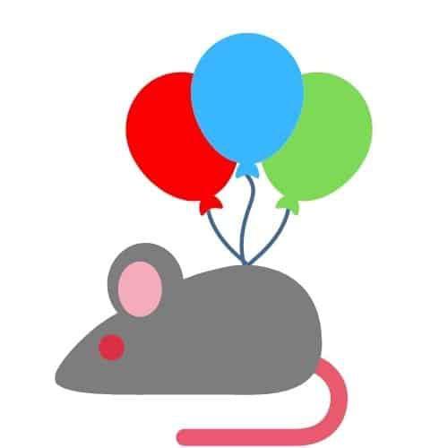 Jak wykonać myszkę z balonów?